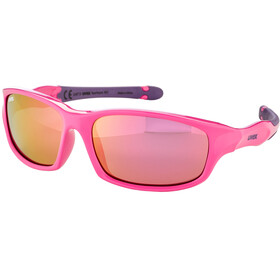 UVEX Sportstyle 507 Glasses Kids pink purple/mirror pink